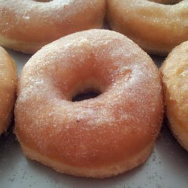 donut azucar