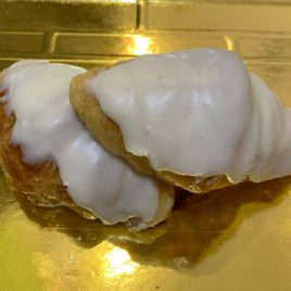 Croissants de chocolate blanco