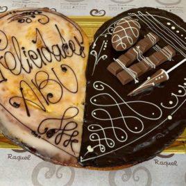 Palmeras de chocolates variados